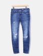 Jeans denim ripped Zara