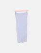 Falda tubo gris Bershka