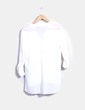 Blusa fluida blanca semi-transparente Atmosphere
