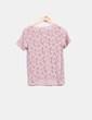 Top rosa palo de encaje Pull&Bear