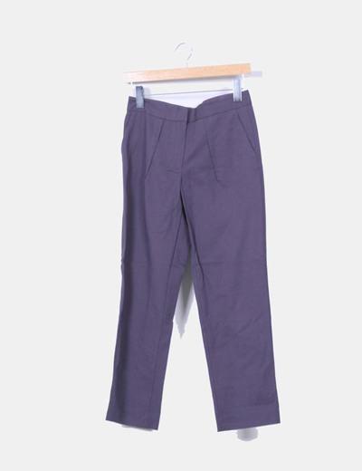 Pantalón chino azul marino Bimba&Lola