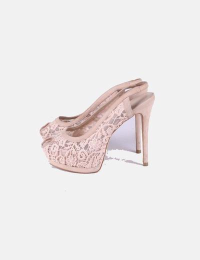 Nudedescuento Zapato Zara Encaje Tacón 75Micolet 1KJcTlF3