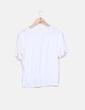 Camiseta cruda detalle bordado Zara