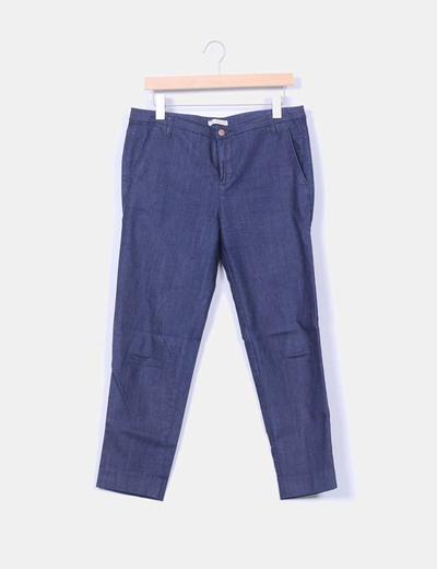 Pantalón chino vaquero Pull&Bear