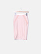 Falda rosa satinada Asos
