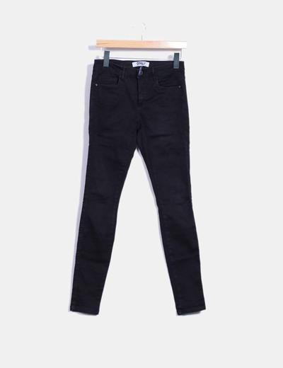 Pantalón elástico negro ONLY