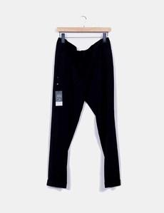 Pantalón fluido negro Andamio a98d8d94f760