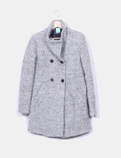 d180dea44ab96 Abrigo lana gris – Chaquetas de hombre y mujer 2019