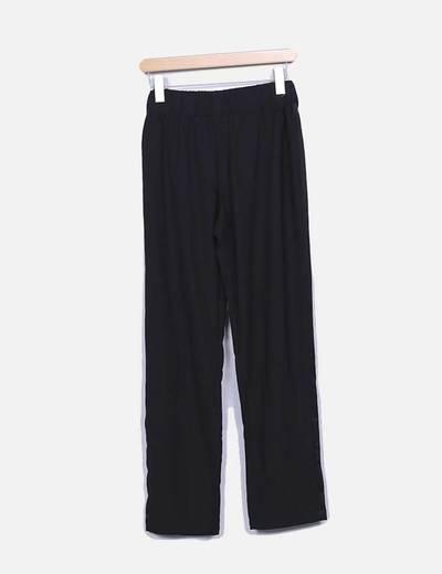 Pantalón negro fluido Suiteblanco