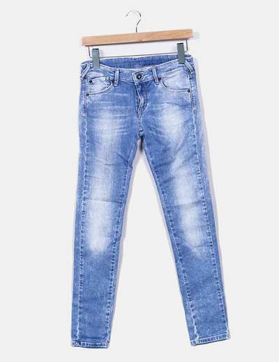 Jeans pitillo denim