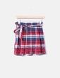 Falda cuadros rojos Sfera