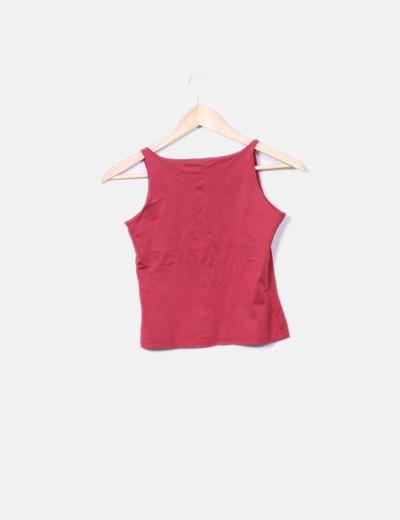 b565530695d Martara Top rojo de tirantes (descuento 88%) - Micolet