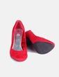 Salones antelina roja H&M