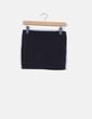 Mini falda negra Stradivarius