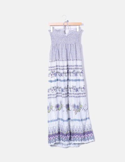 Oysho Maxi trägerloses Kleid (Rabatt 74 %) - Micolet 21cf1b7353