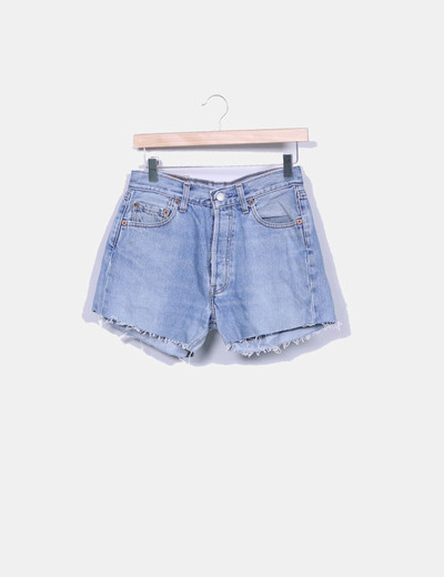 Shorts denim Levi's 501 desflecado