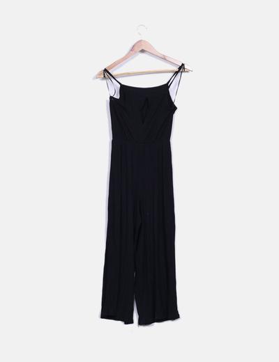 Mono culotte negro canale