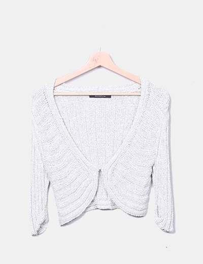 Torera tricot satinada