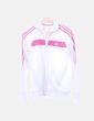 Sudadera blanca rayas rosas Adidas