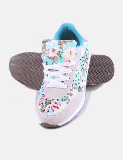 be71724144e56 Venca Zapatillas combinadas con estampado floral (descuento 53%) - Micolet