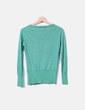 Chaqueta tricot verde glitter Suiteblanco