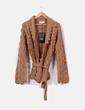 Cardigans couleur camel tricot en gros morceaux Hoss Intropia