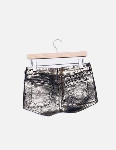 Shorts encerado gold