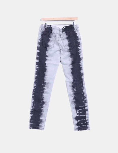 Jeans denim gris slim fit