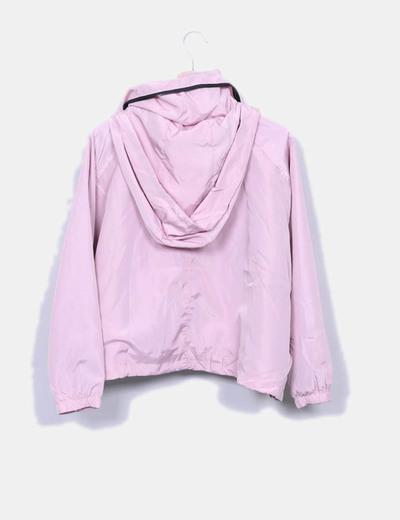 Chaqueta ligera rosa