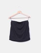 Mini falda negra con pedrería Suiteblanco