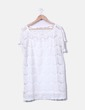 Vestido crochet blanco Suiteblanco