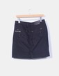 Mini falda azul oscuro Southern Cotton