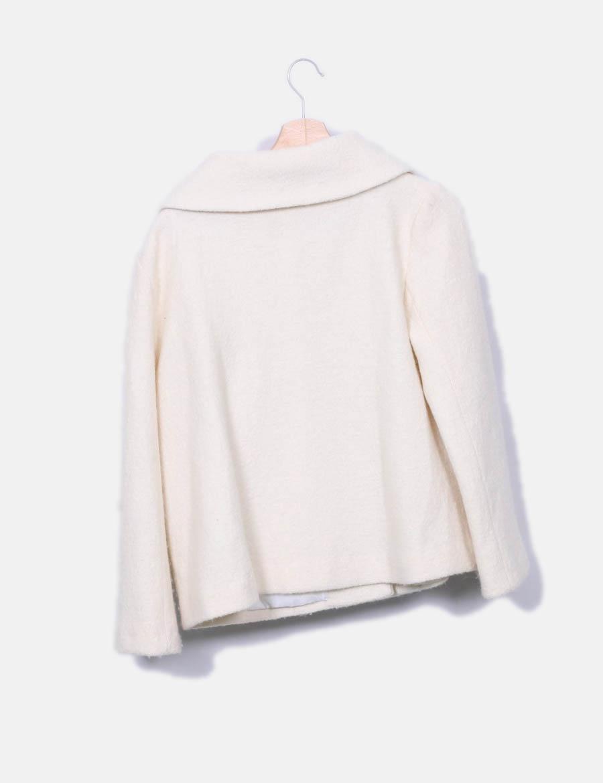 e9fe0075d8b ... y de Mujer online Abrigos Abrigo blanco Derhy baratos Chaquetas 4wfqOz