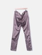 Pantalon marron en satin Ichi