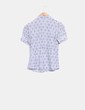 Camisa estampada manga corta  Massimo Dutti