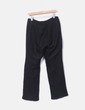 Conjunto de pantalón y blazer lino negro Yera