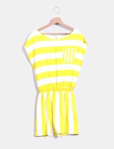 Yellow dress terranova online