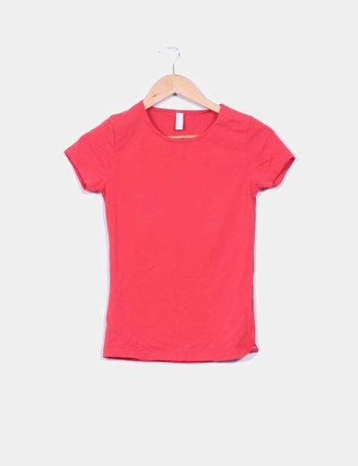 Camiseta roja Vero Moda