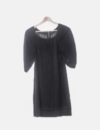 Vestido negro fluido