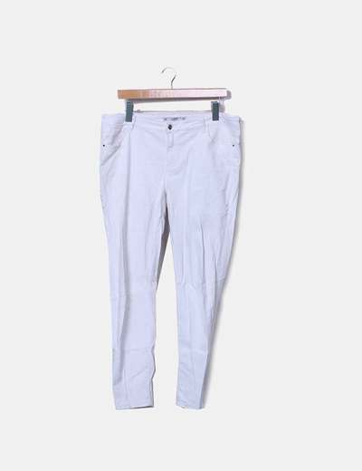 Pantalon blanc denim Lefties