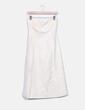 Vestido crudo con bordados Zara