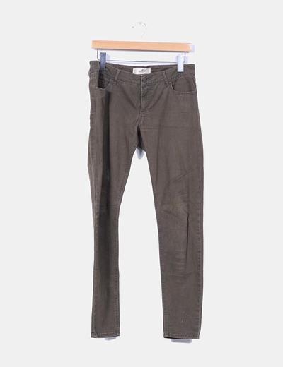 Pantalón kaki Hollister