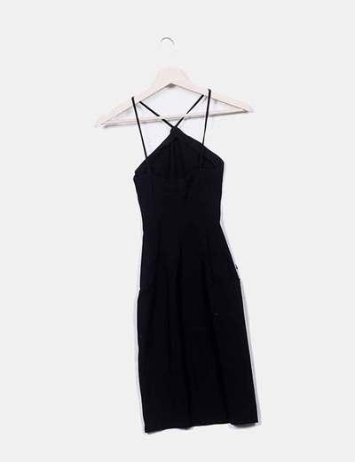 obtener online nueva apariencia Excelente calidad Vestido entallado negro