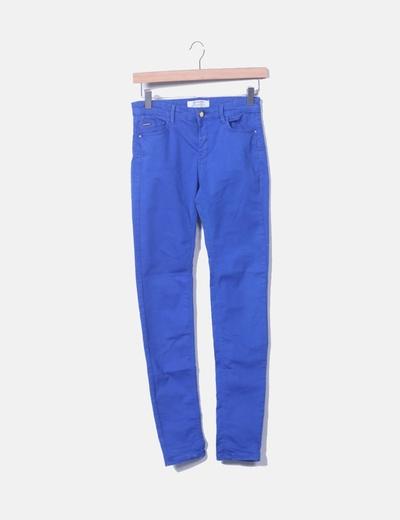 Pantalón azul electrico