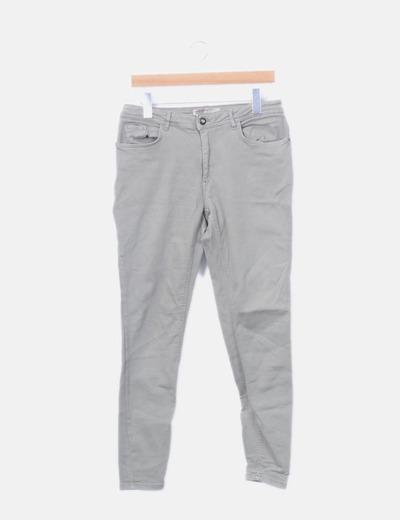 Jeans denim skinny verde mint