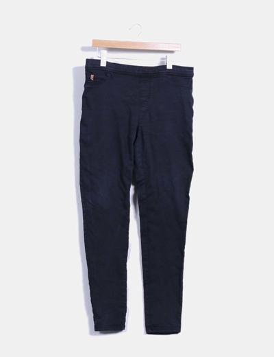 Pantalón denim negro Cortefiel