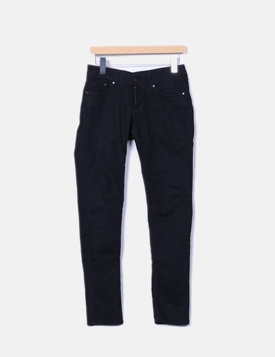 Pantalón pitillo negro NoName