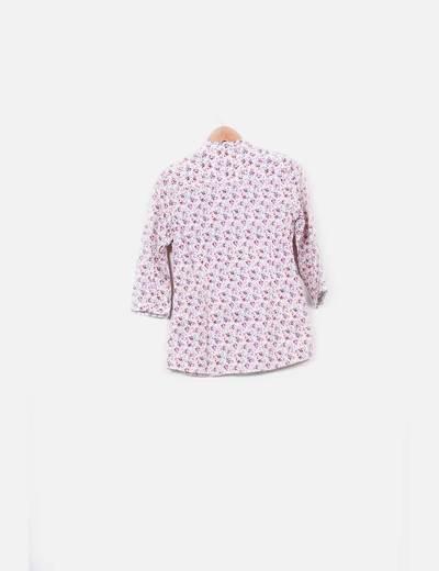 Camisa floreada estampada