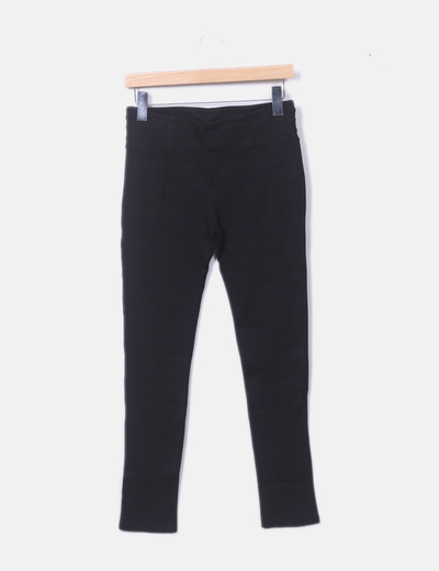 Legging negro largo