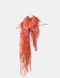 Pañuelo floral con flecos NoName